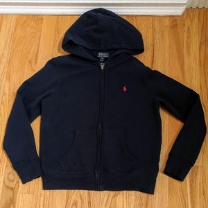 Boys Polo Ralph Lauren Zippered Sweat Jacket